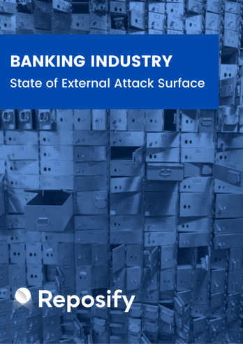 Banking report cover